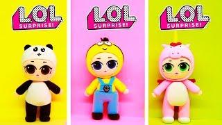 КУКЛЫ ЛОЛ в ПИЖАМКАХ!!! Панда Единорог Миньон Игрушки ЛОЛ Сюрпризы Шары LOL Surprise Dolls