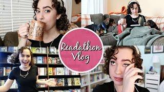 24 HOURS OF READING? | READATHON VLOG