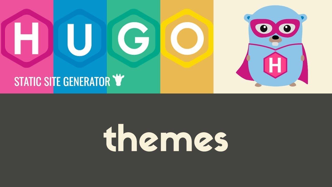 Installing & Using Themes | Hugo - Static Site Generator | Tutorial 5