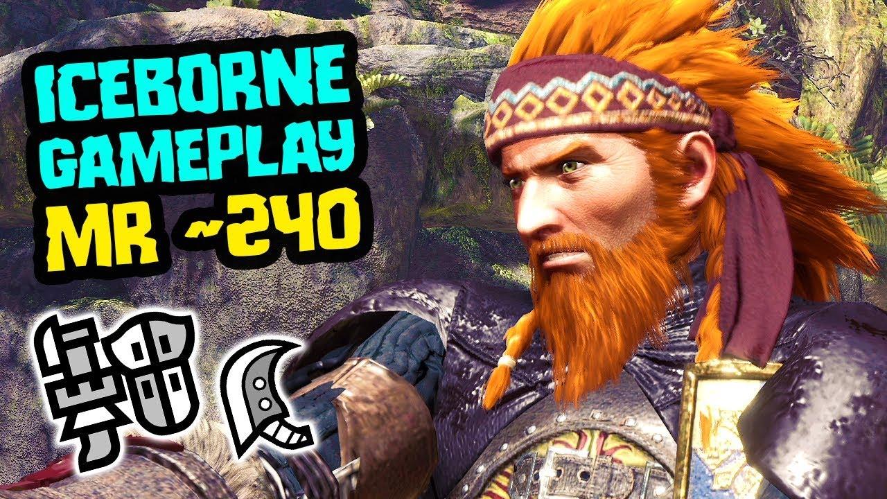 Monster Hunter World Iceborne Gameplay - Grinding Lands, Sewer Edition [MR 240] thumbnail