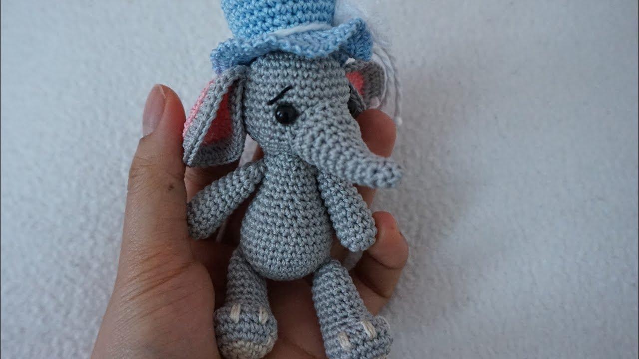 Patron Amigurumi : L'éléphant au crochet – Made by Amy   720x1280