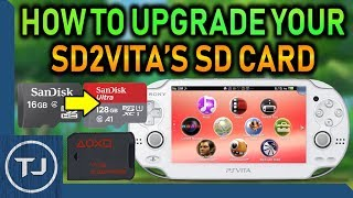Upgrade SD2Vita Micro SD To Larger Size! (No Corrupt Files Or Errors)