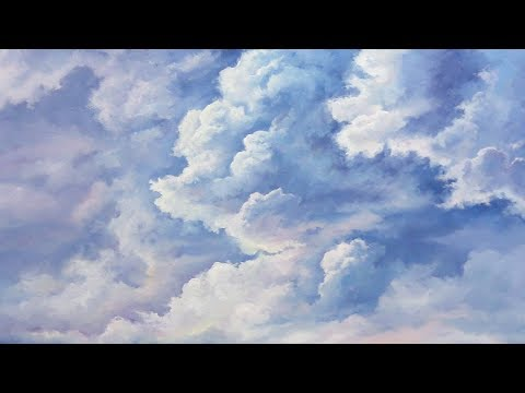 A Cloudy Sky | Paint with Kevin ®