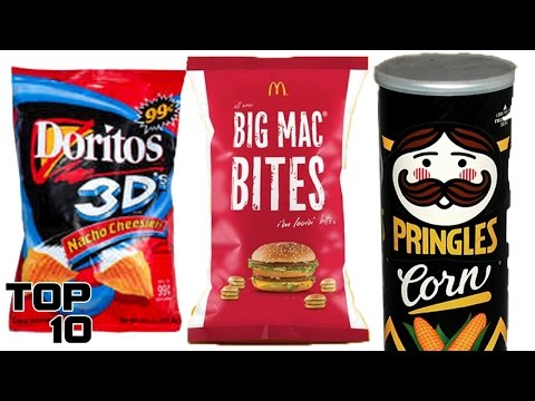 Top 10 Discontinued Food Items We All Miss - Part 8