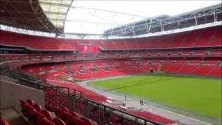 Wembley Stadium Tour   ウェンブリー・スタジアム