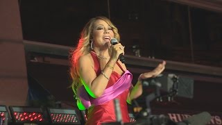 WATCH: Mariah Carey performs free show in Toronto