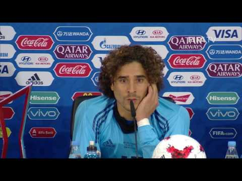 POR v MEX - Guillermo Ochoa - Mexico Post-Match Press Conference