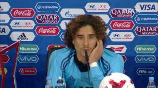 POR v MEX - Guillermo Ochoa - Mexico Post-Match Press Conference
