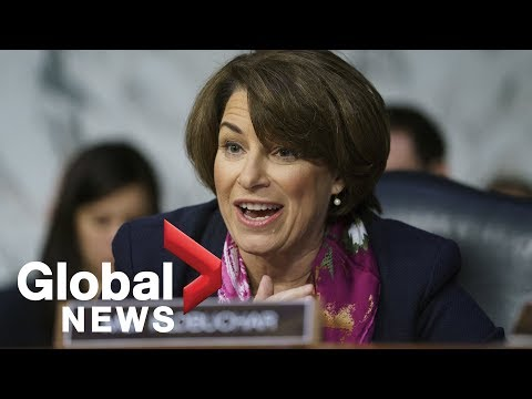 Minnesota Democratic Sen. Amy Klobuchar joins 2020 presidential race Mp3