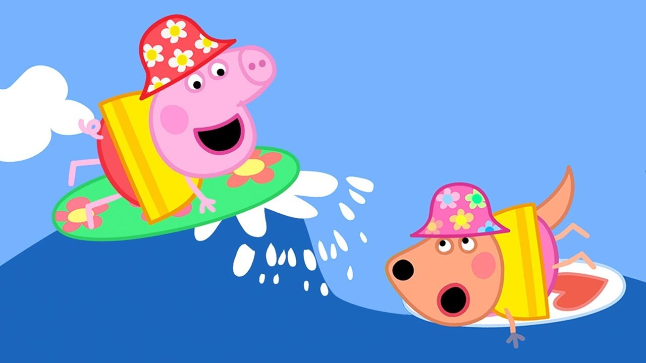 Peppa Pig Official Channel Peppa Pig S Amazing Surfing Skill