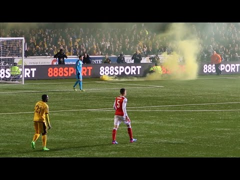 CRAZIEST FOOTBALL EXPERIENCE! SUTTON UNITED VS ARSENAL