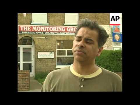 UK: LONDON: INDIAN COMMUNITY VIGILANTE GROUP