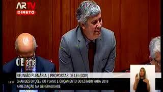 03-11-2017 - Debate na Generalidade OE 2018 | Resposta do MF ao Deputado Paulo Sá
