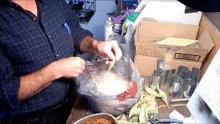 Séparation des graines d'asclépiade