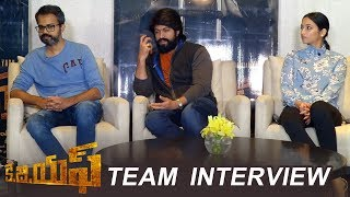 KGF Movie Team Interview | Rocking Star Yash | Srinidhi Shetty | Prashanth Neel | TFPC
