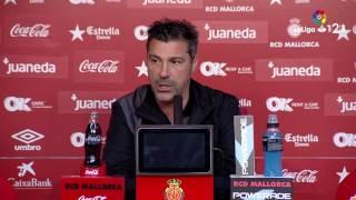 Rueda de prensa de Javier Olaizola tras el RCD Mallorca vs Levante UD (1-1)