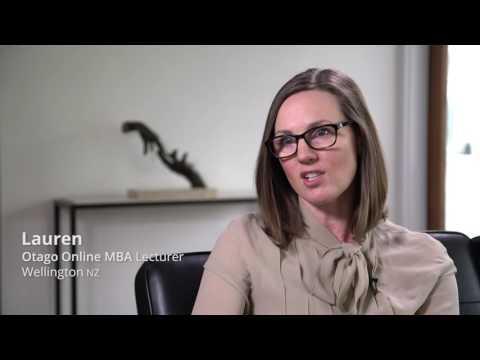 The Otago Online MBA Programme