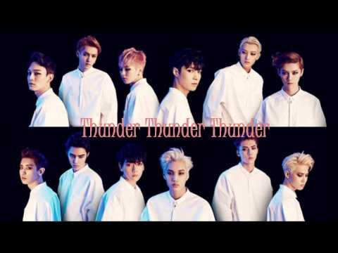 EXO Thunder Karaoke/Instrumental
