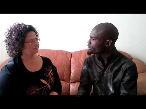 Sandra Cervone Intervista Sull'integrazione A Felix Adado