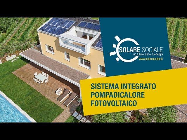 Sistema integrato pompadicalore fotovoltaico