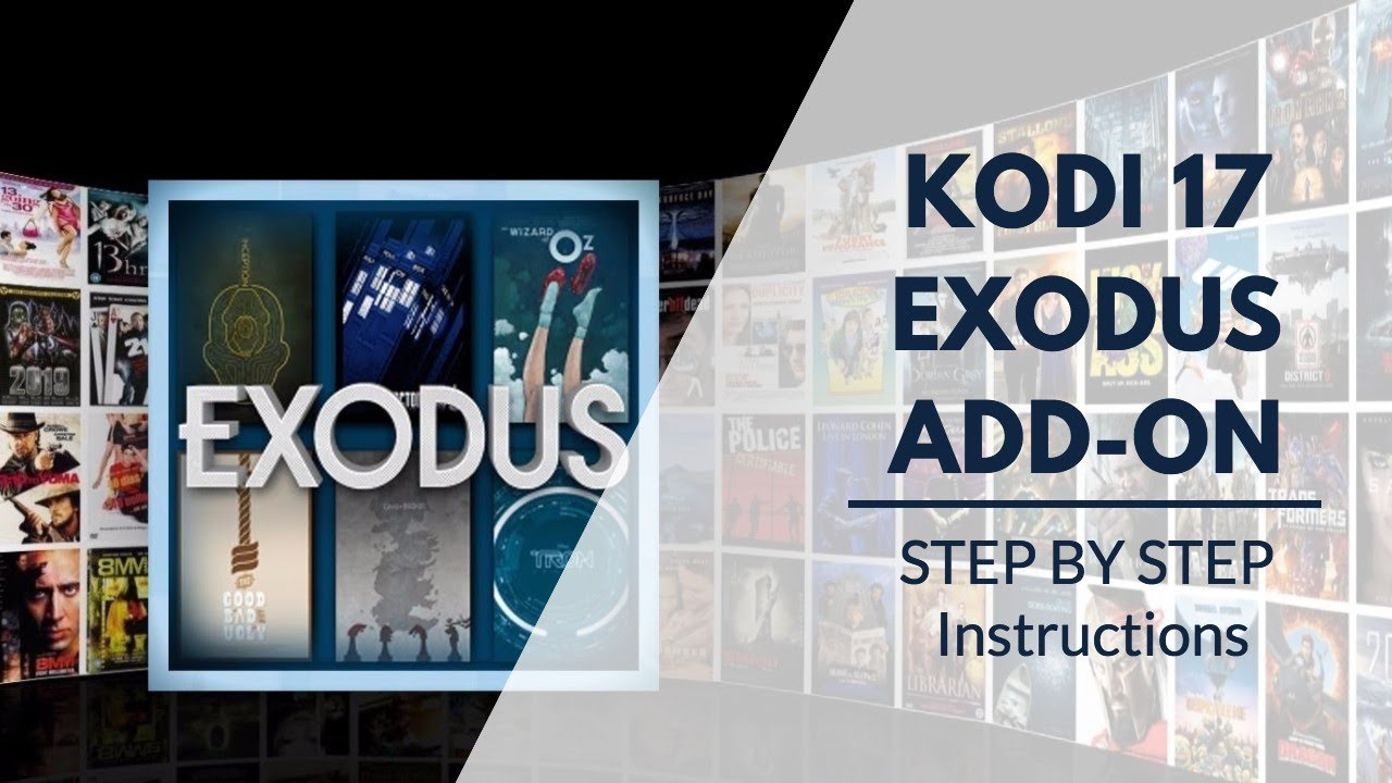 how to instal exodus add on