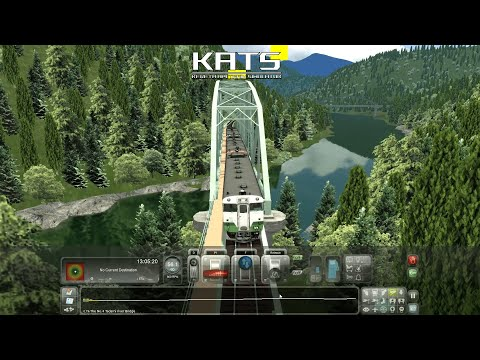 Train Simulator 2021 Tadami Line Train Compilation Across The Bridge Part 1 |