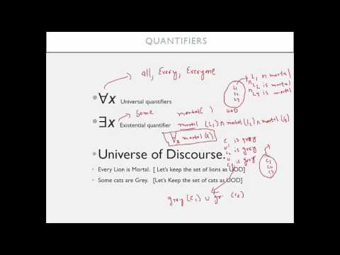 First Order Logic | Lecture 2