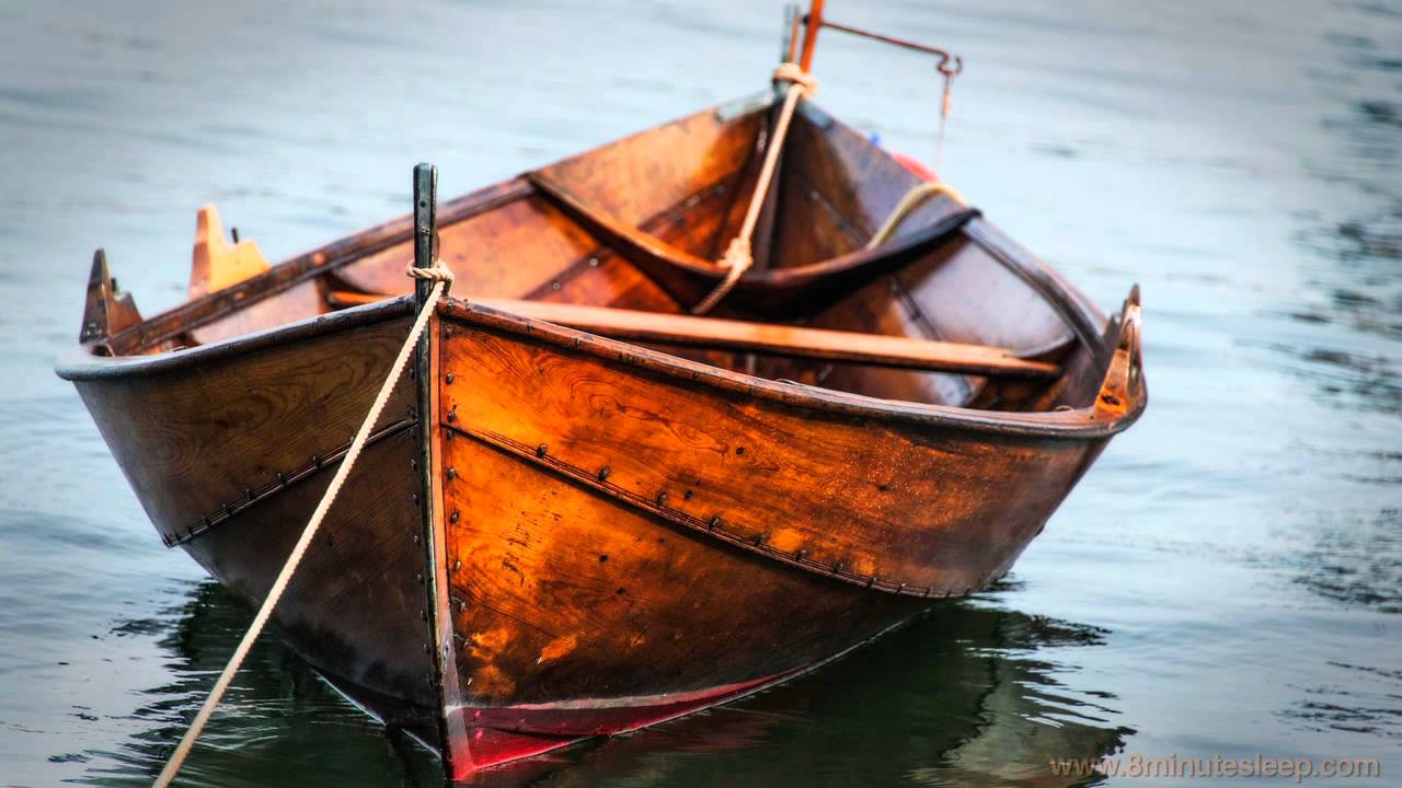 WAVES GENTLY ROCKING BOAT | Relax, Unwind, Meditate or ...