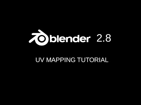Uv mapping tutorial for Blender 2.80