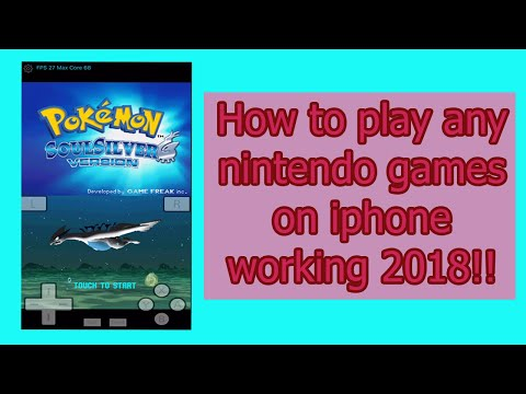 How To Play Pokemon Soul Silver In Ios 12 2019 Working!! NO JAILBREAK