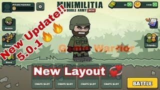 Mini Militia NEW UPDATE 5.0.1(New Layouts+New Gun Settings)|Doodle Army 2: Mini Militia 2020 screenshot 1