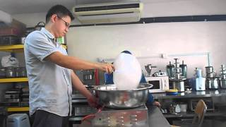 Candy Floss Machine Gas