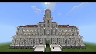 minecraft hall build