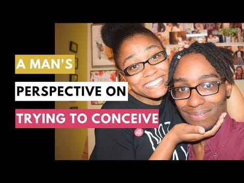 A Husband's Perspective on Trying to Conceive | Men TTC || Young Mrs.