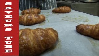 How to make French Croissants with The French Baker TV Chef Julien from Saveurs  Dartmouth U.K