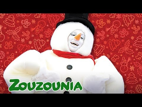 Frosty the Snowman | Zouzounia feat. Anna Rose & Amanda | Christmas Songs for kids