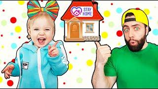 Весёлые развлечения и игры дома. Истории для детей от Миры Зефиры
