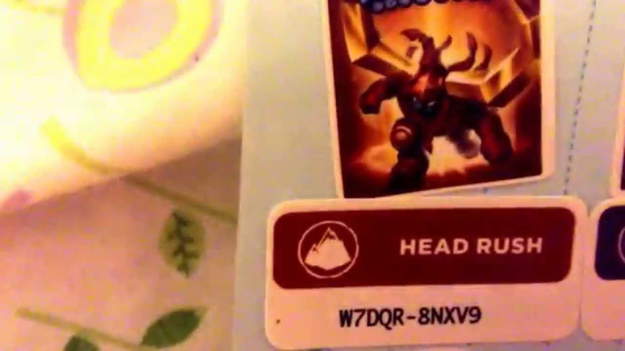 Free skylander codes for lost island and I did use them so ya have fun ...