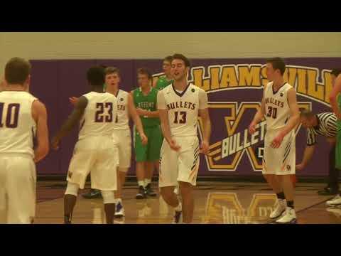 2017-2018 Williamsville High School Boys' Basketball Entrance Video