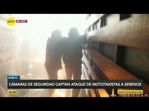 """Ataque de mototaxistas informales a fiscalizadores de Surco: """"Está confirmado que son extranjeros"""""""
