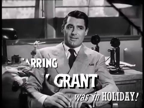 HIS GIRL FRIDAY Original 1940 trailer with added text