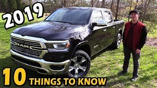 2019 Ram 1500: 10 Things to Know | Truck Central Review