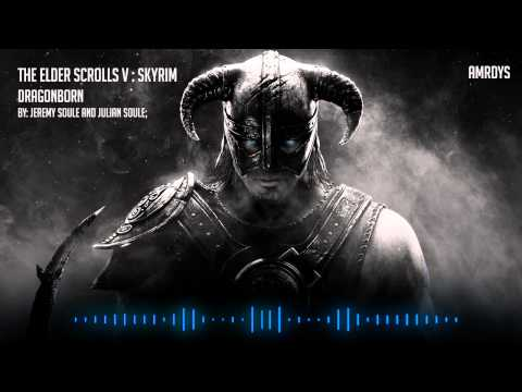 The Elder Scrolls V Skyrim Main theme: Dragonborn - HQ Epic Soundtracks