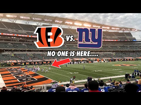 Going To A Cincinnati Bengals Game During 2020