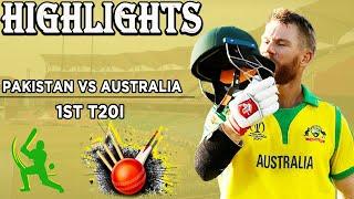 Pakistan Vs Australia | 1st T20I | Full Highlights | PCB | MA2F