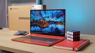 Samsung Galaxy Chromebook 2 Unboxing & First Impressions