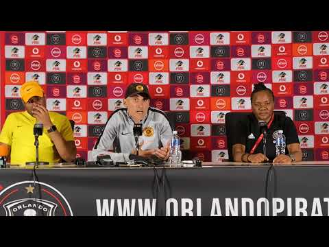 Kaizer Chiefs Soweto derby post-match presser