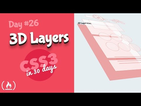 3d Layer Effect: CSS Tutorial (Day 26 Of CSS3 In 30 Days)