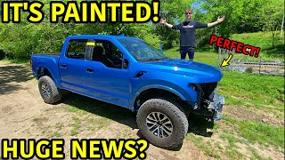 Rebuilding A Wrecked 2019 Ford Raptor Part 13