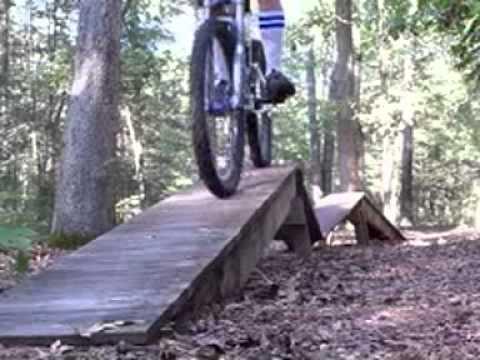 Trail riding at Naylor Park Salisbury, MD